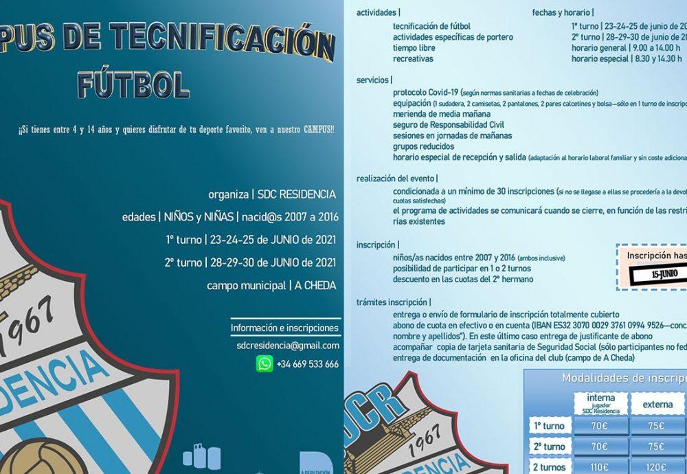 Campus Tecnificación SDCR 2021